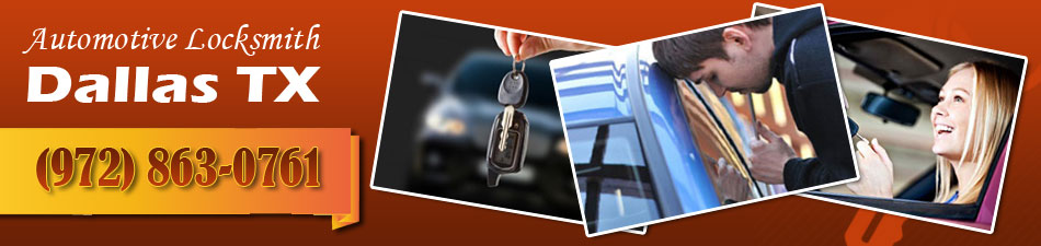 Automotive Locksmith Dallas TX Banner